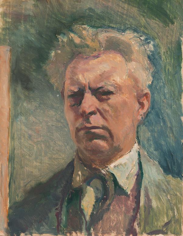 Jaroslav Vodrážka – Autoportrét