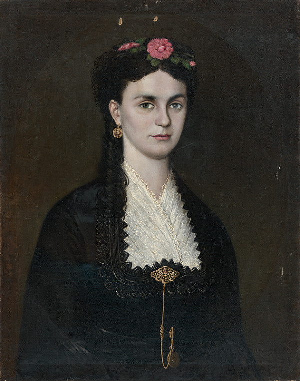 Nemecký autor z 2. polovice 19. storočia - Portrét ženy