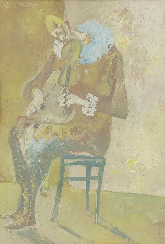 Vincent Hložník - Sediaci harlekýn