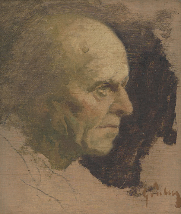 Gejza Szalay - Hlava starca