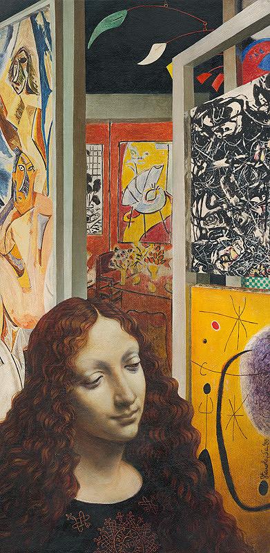 Stanislav Lajda - Leonardova madona v Galérii moderného umenia