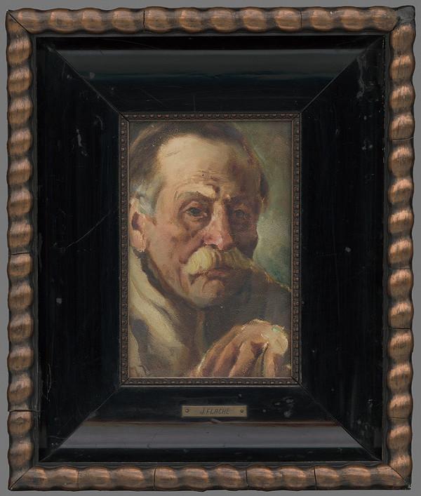 Július Flache - Hlava starca