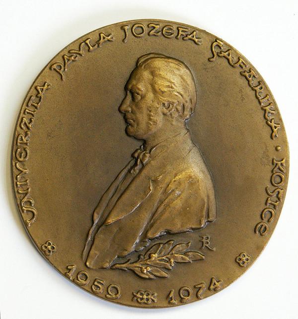 Rudolf Pribiš – Pamätná medaila Univerzity P.J. Šafárika v Košiciach