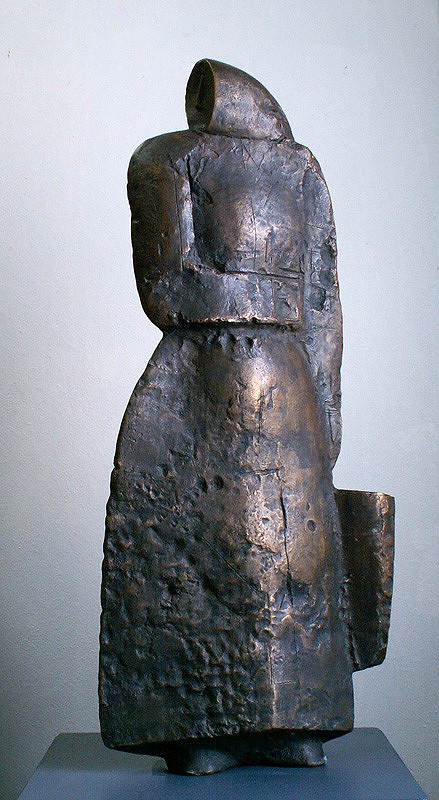 Vladimír Kompánek – Žena s putňou