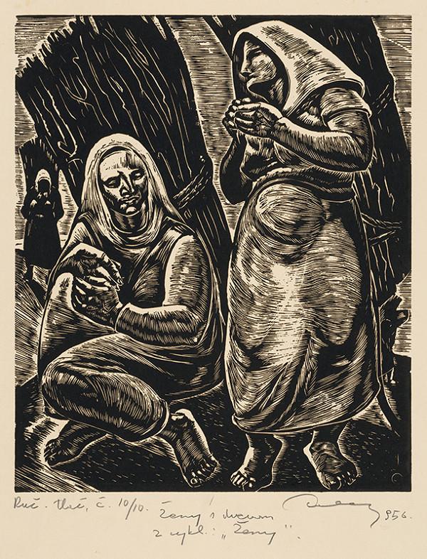 Július Szabó – Ženy s drevom