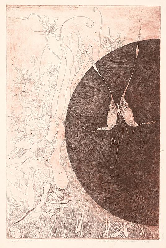 Alžbeta Štefunková-Szabová – Motýľ
