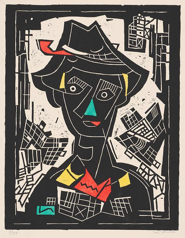 Ľudovít Fulla - Chlapec v klobúku