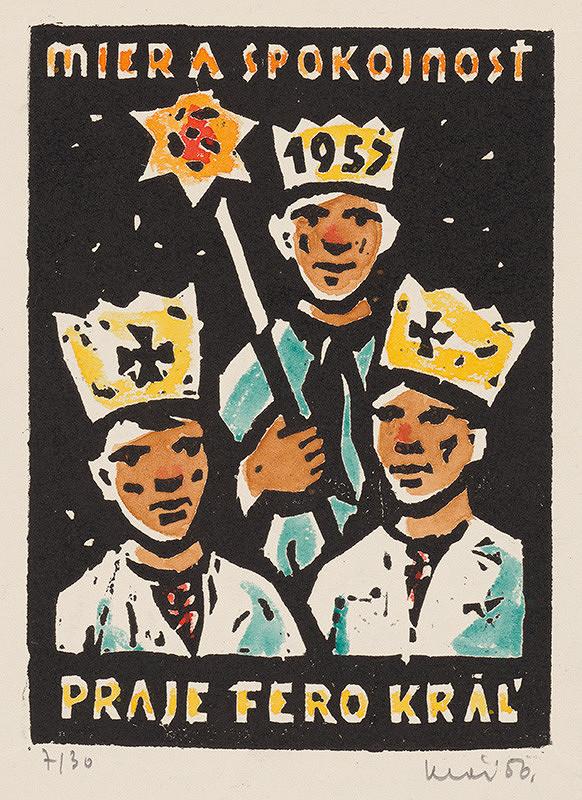 Fero Kráľ - Novoročenka 1957