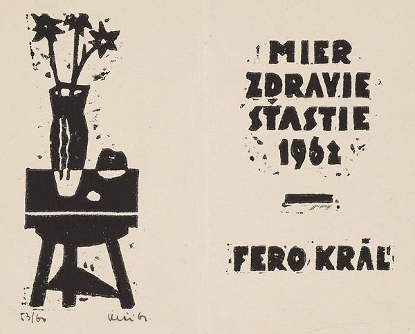 Fero Kráľ – Novoročenka 1962
