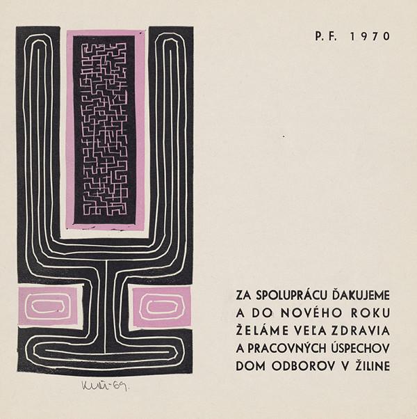 Fero Kráľ - Novoročenka 1970-II.