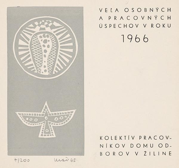 Fero Kráľ – Novoročenka 1966-I.