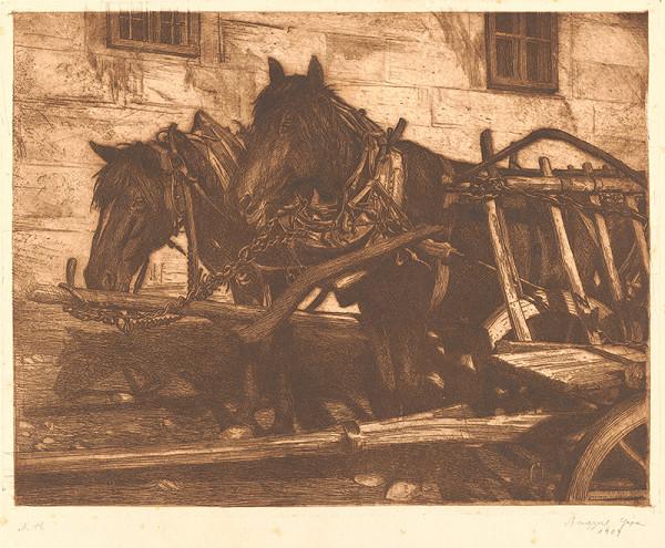 Gejza Angyal – Kone s vozom II.