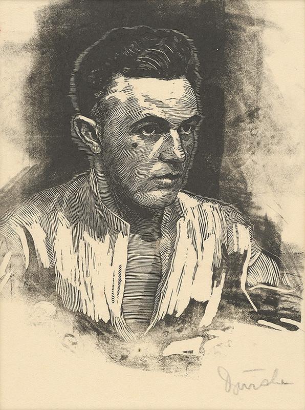 Anton Djuračka - Autoportrét