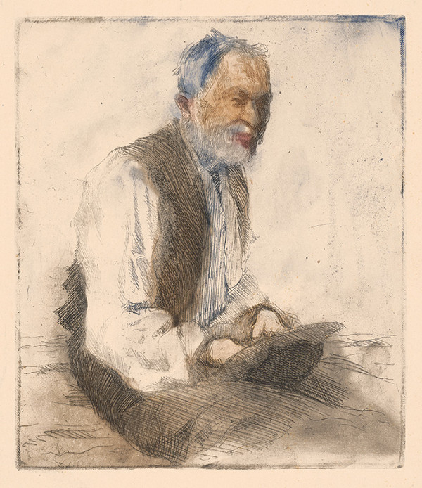 Anton Djuračka - Starec