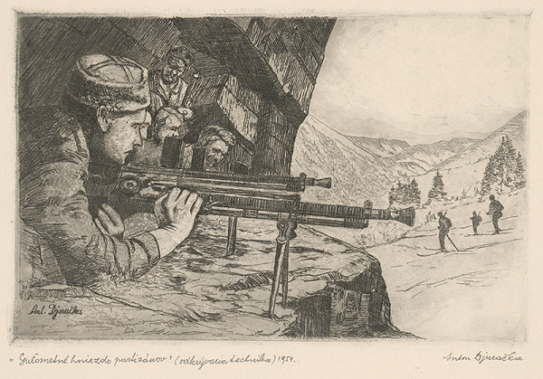 Anton Djuračka – Guľometné hniezdo