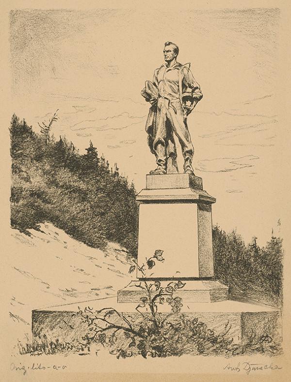 Anton Djuračka - Pomník