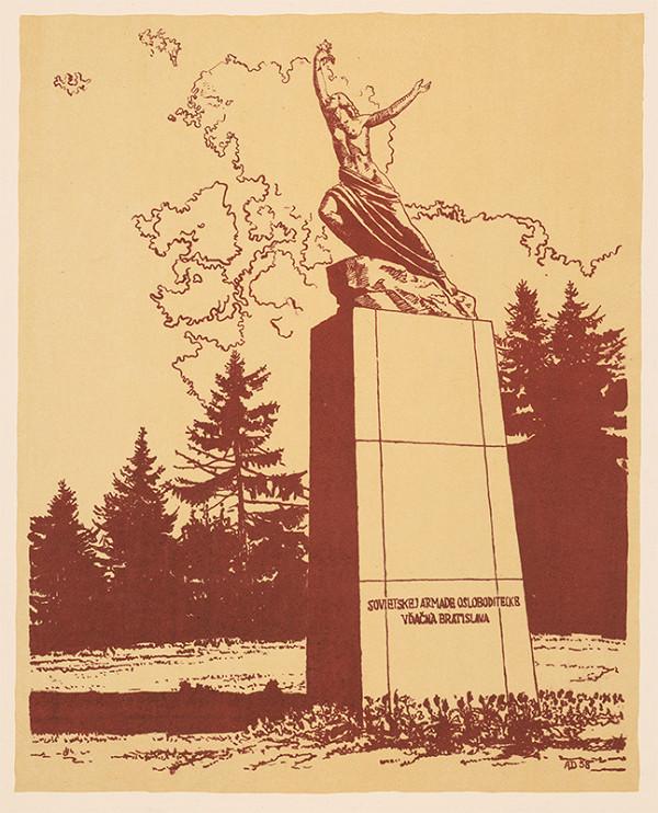 Anton Djuračka - Pomník sovietskej armáde