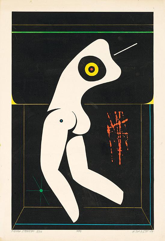 Andrej Barčík – Figúra s terčom