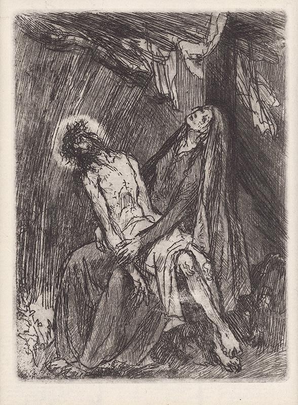 Jaroslav Vodrážka – Pieta pod krížom