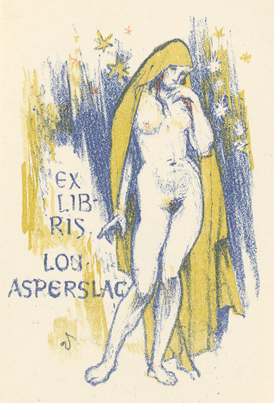 Jaroslav Vodrážka – Ex libris Lou. Asperslag