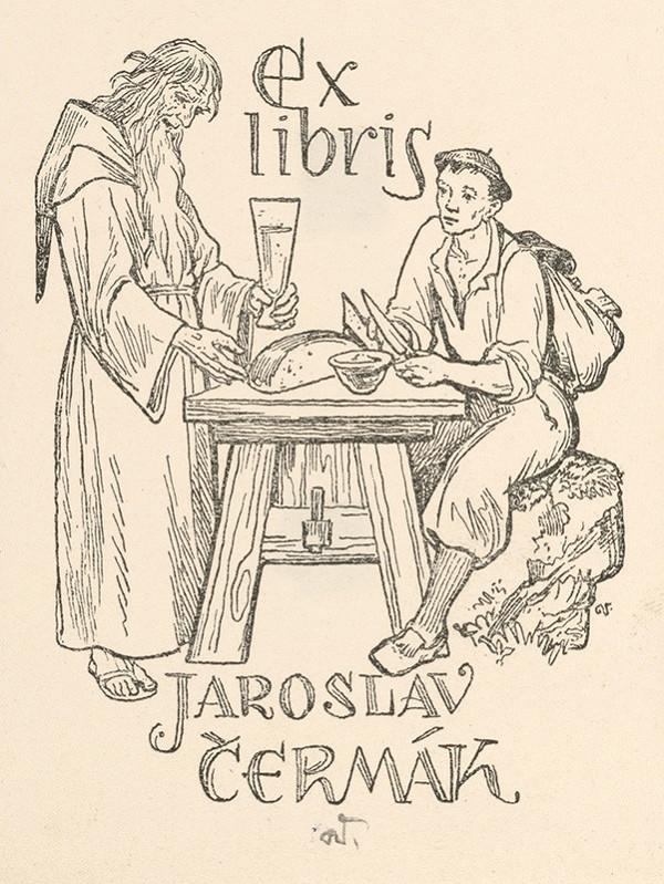 Jaroslav Vodrážka – Ex libris Jaroslav Čermák