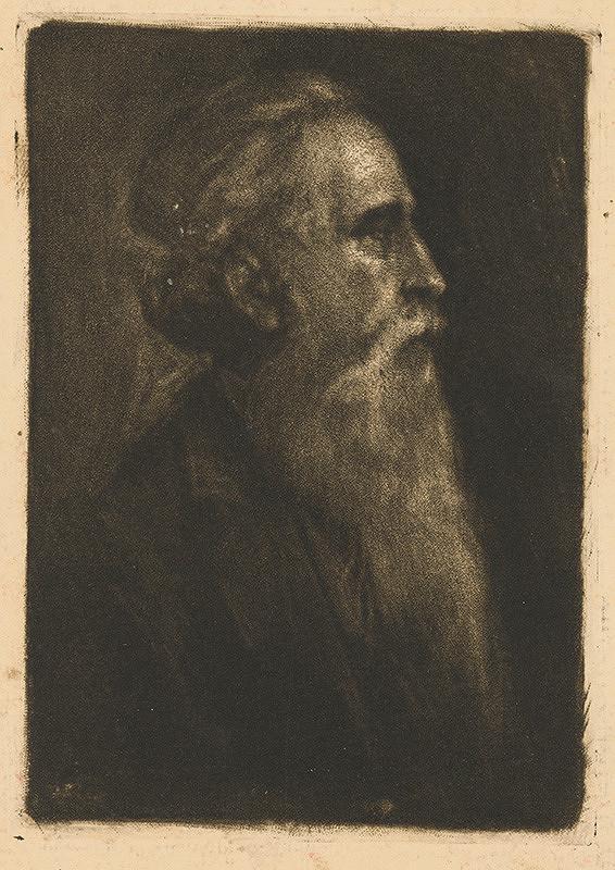 František Gyurkovits – Portrét muža
