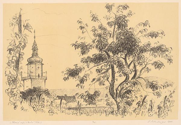 Ľubomír Kellenberger – Horná veža v Modre