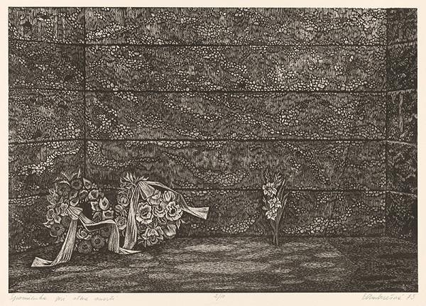 Edita Ambrušová – Spomienka pri stene smrti