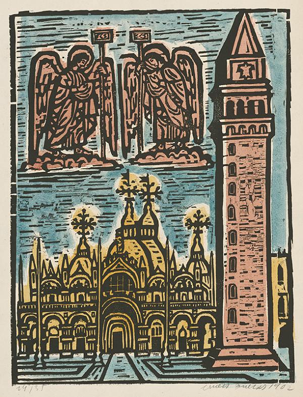 Ernest Zmeták – Chrám sv.Marka v Benátkach