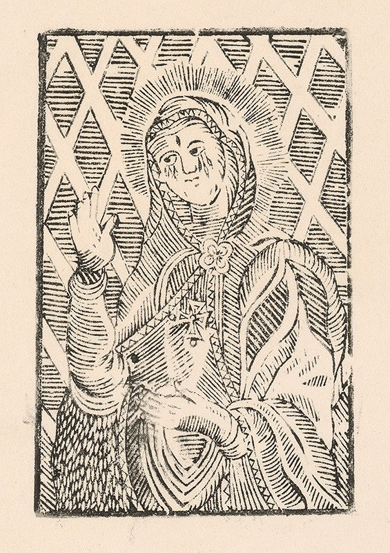 Slovenský grafik zo začiatku 19. storočia – Trnavská P. Mária