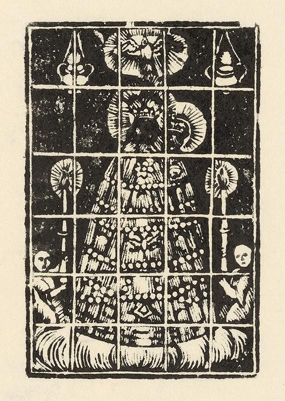 Slovenský grafik zo začiatku 19. storočia - Panna Mária loretánska