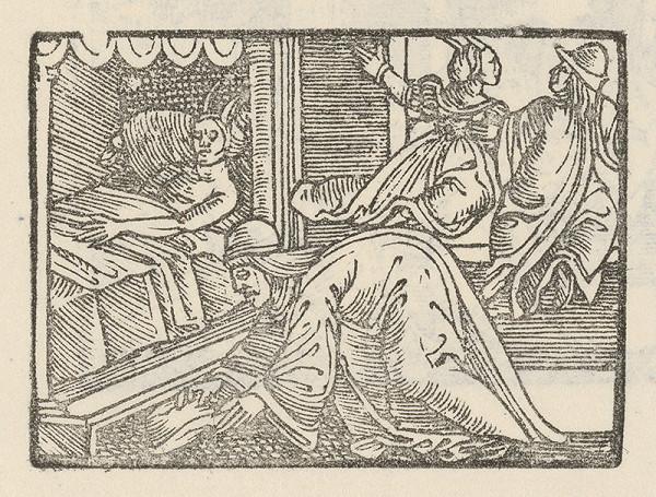 Nemecký grafik z polovice 16. storočia – Andolsio objavuje čarodejný klobúk