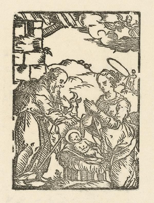 Moravský grafik zo začiatku 17. storočia - Narodenie