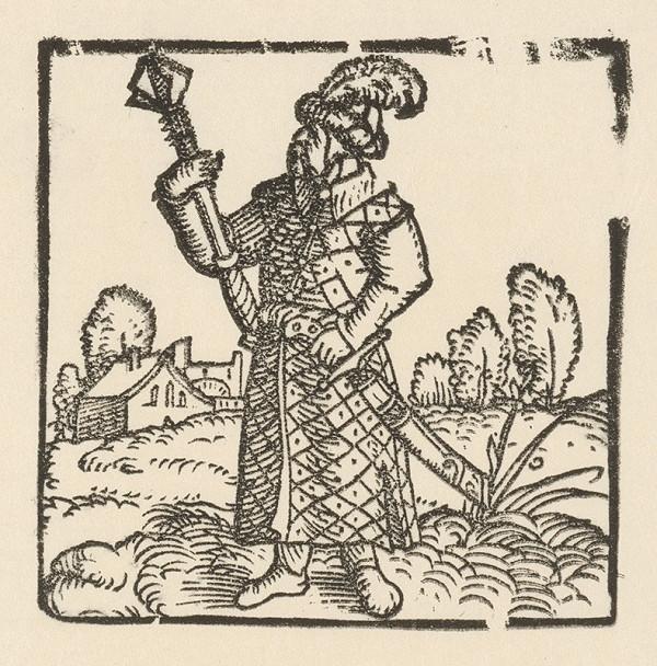 Nemecký grafik z polovice 16. storočia – Turek