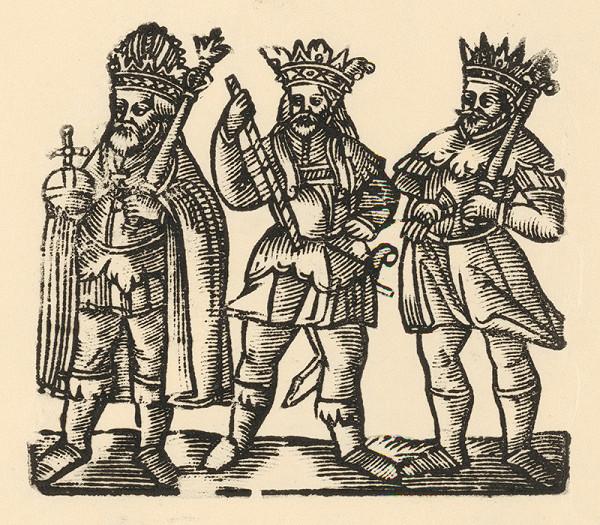 Nemecký grafik z 1. polovice 16. storočia - Traja králi