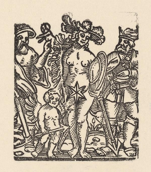 Nemecký grafik zo začiatku 17. storočia – Venuša