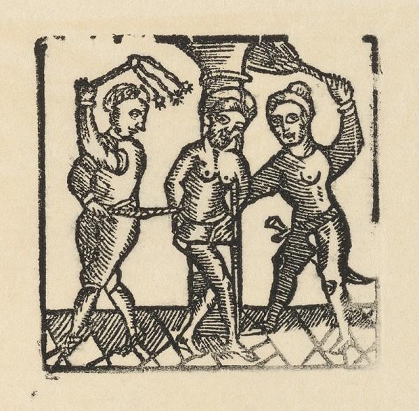 Moravský grafik zo začiatku 18. storočia – Bičovanie