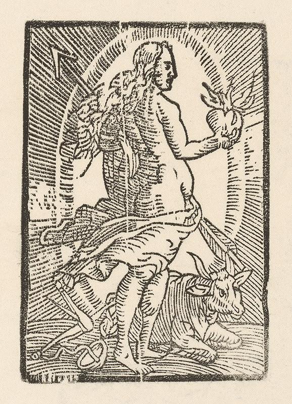Moravský grafik zo začiatku 17. storočia - Venuša