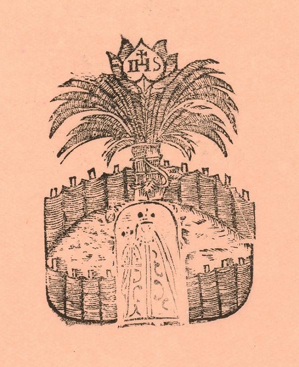 Moravský grafik zo začiatku 19. storočia - Záhrada so stromom života