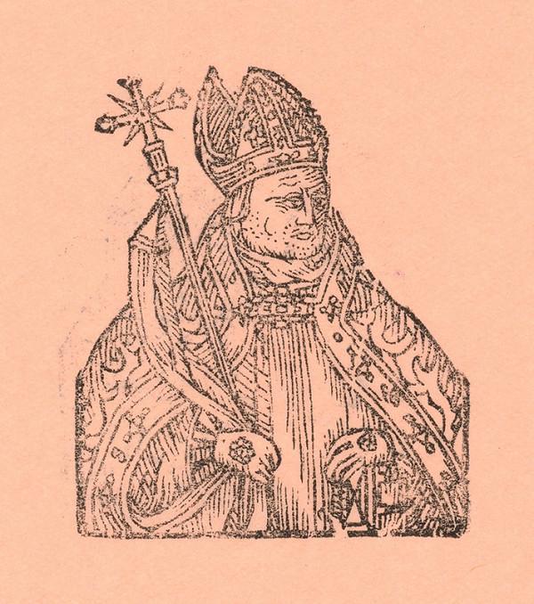 Moravský grafik zo začiatku 17. storočia – Biskup