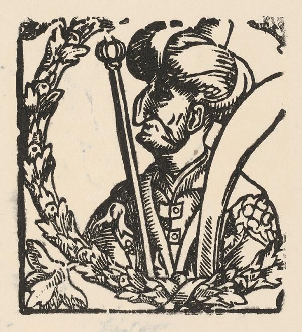 Nemecký grafik z 2. polovice 16. storočia - Mohamed II.