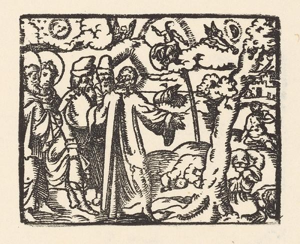 Nemecký grafik zo začiatku 17. storočia - Hrozba mestám