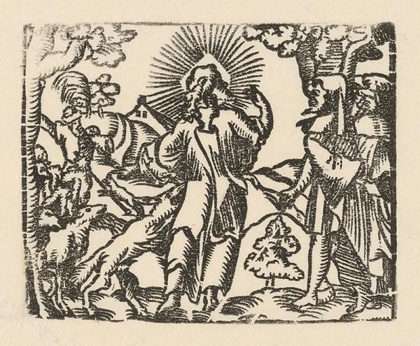 Nemecký grafik zo začiatku 17. storočia – Cesta do Emauz