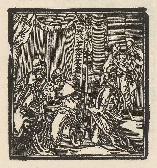 Moravský grafik zo začiatku 17. storočia - Obriezka Krista