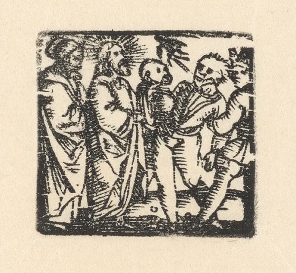Nemecký grafik z 1. polovice 16. storočia – Uzdravenie chromého