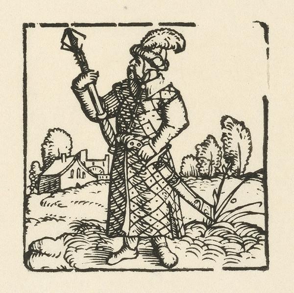 Nemecký grafik z 2. polovice 16. storočia – Turek