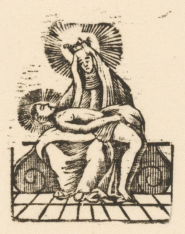 Slovenský grafik z prelomu 18. - 19. storočia – Pieta