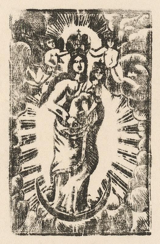 Slovenský grafik z prelomu 18. - 19. storočia – Starohorská Panna Mária