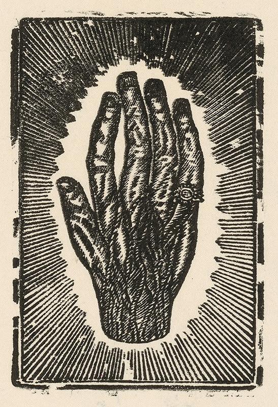 Slovenský grafik z 2. polovice 18. storočia – Ruka