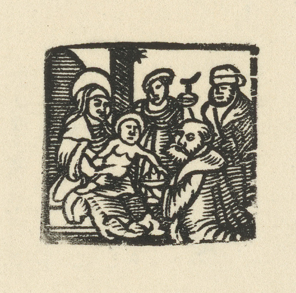 Nemecký grafik z 1. polovice 16. storočia - Narodenie